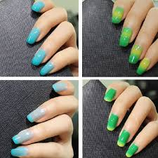 acrylic nails all one color nails art ideas