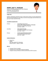 Sample Resume For Ojt Accounting Students by Sample Resume For Ojt Resume Format Ojt Umya Example Resume