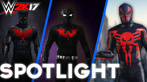Batman Halloween Costume Wwe 2k17 Batman Creation Spotlight