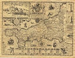 historic maps of florida cornwall history historical maps cornwall by