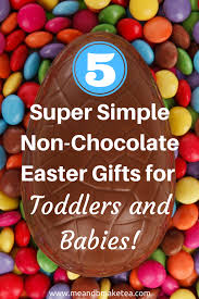 easter gifts for children 5 simple non chocolate easter gifts for toddlers and babies