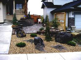 rock garden designs for front yards images landscaping yard with
