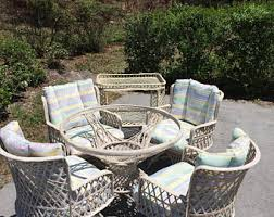 vintage outdoor furniture etsy