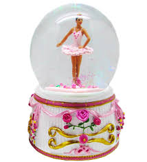 balmwg aa turning ballerina musical snow globe ethnic plays