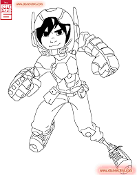 big hero 6 coloring pages disney coloring book