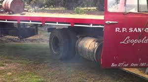 Vintage Ford Truck Australia - old international truck perkins diesel youtube