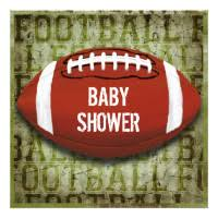 football baby shower football baby shower party invitations