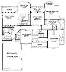 Chateauesque House Plans French Country Style House Plans 3755 Square Foot Home 2 Story