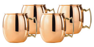 moscow mule mugs 16 ounce solid copper moscow mule mug set