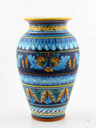 Beautiful Vases Italian Ceramics Vase Deruta Italian Pottery By Eugenio