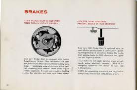 1960 dodge dart owners manual