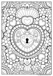 imagenes de amor para dibujar grandes 190 mandalas para colorear para niños mandalas