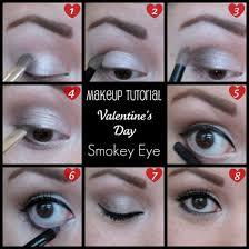 valentine s day smokey eye makeup tutorial