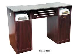 manicure nail table station manicure table with built in vacuum nv f12 309s manicure tables