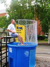 dunk tank rental nj dunk tank rentals 125 for 24 hour rental birthday