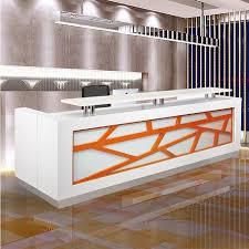 Furniture Reception Desk Bar Floor Shop Fashionable Cool Lacquer Reception Desk