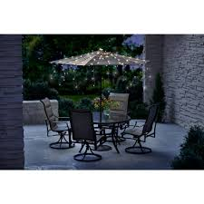 Patio Umbrella String Lights Umbrella String Lights 150 Count Kf01006 The Home Depot
