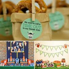football party decorations football themed birthday party ideas for boys popsugar