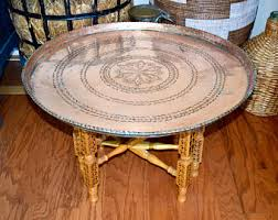 copper coffee table etsy