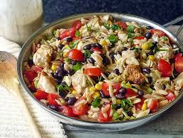 Mexican Pasta Salad Spicy Chicken Pasta Recipe Life Tastes Good