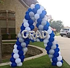 graduation balloons graduation columns graduation balloons dallas