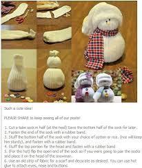 Diy Sock Snowman 91 Best Snowman Diy Images On Pinterest Snowman Crafts Snow And