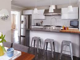 Designs For Small Kitchens Modern Bungalow Kitchen Mark Williams Hgtv