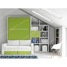 armoire lit avec canapé armoire lit avec canapé coffre 140 maison de l armoire lit