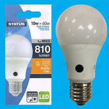light bulbs with sensors low energy dusk till dawn bulb ebay