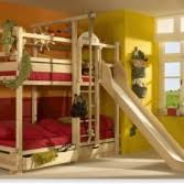 Three Person Bunk Bed Ergonomic Bunk Beds Kidsomania