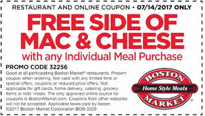 boston market coupons printable coupons in store coupon codes