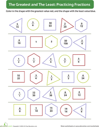 fraction practice education com