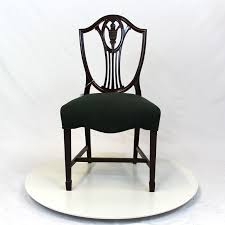 chippendale shield back chair before u0026 after vintage modern