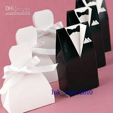 personalized wedding gift bags 40 personalized wedding dress tuxedo favor gift boxes butterfly
