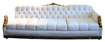 Narrow Leather Sofa White Velvet Sofa Leather Sofa Also White Velvet Sofa With