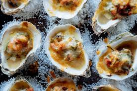 these cheesy oysters are a cocktail party pleaser ricardo