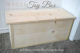 Build Wooden Toy Boxes by How To Build A Toy Box Adventures Of A Diy Mom