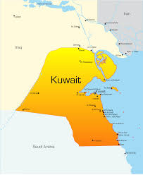 Arizona Map Of Cities by Kuwait Map With Cities Blank Outline Map Of Kuwait