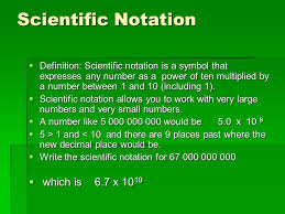 working with scientific notation scientific notation mrs vass bjh ppt