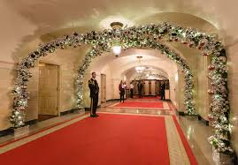 pictures of homes decorated for christmas inside the 2015 white house christmas decorations created by