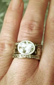 wedding band that will go with my east west oval e ring my 2 15ct east west bezel set e ring set weddingbee
