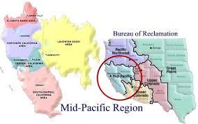 pacific region map mid pacific region bureau of reclamation