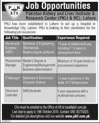 Office Engineer Job Description Mechanical Engineer Procurement Manager It Manager Required At
