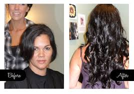 curly hair extensions before and after clearwater hair extensions before after hair extensions
