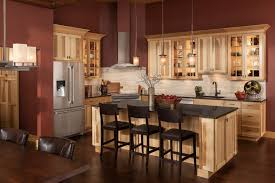 The Essence Of Kitchen Carts And Kitchen Islands For Your Kitchen Shenandoah Cabinetry Island In Hickory Natural Cottage Door