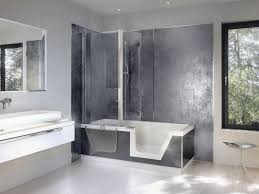 Bathroom Tubs And Showers Ideas Walk In Tub And Shower Combo Line Bathtub Throughout