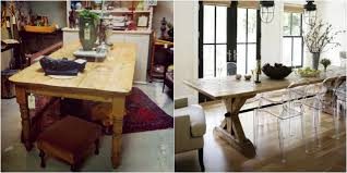farmhouse table modern chairs inspiration evolution home