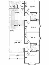 four bedroom house plans one story four bedroomed single storey house plan four bedroom house plans