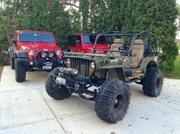 willys jeep lifted jeeping off road willys jeep the mad brit
