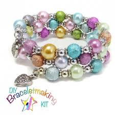 bracelet jewelry kit images Wrap around bracelet kit morning dew the jazzy jewelz studio jpg